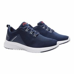 NEW MENS FILA VERSO NAVY SNEAKERS SHOES LACE UP